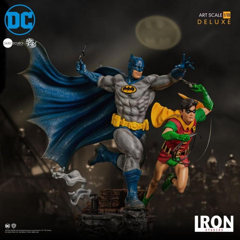 Batman & Robin by Ivan Reis - DC Comics - 1/10 Scale Deluxe Art Statue