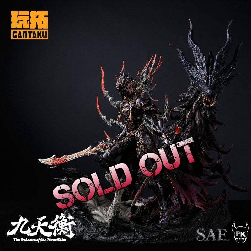 Nie Long by PKking - The Balance of Nine Skies - 1/6 Scale Statue