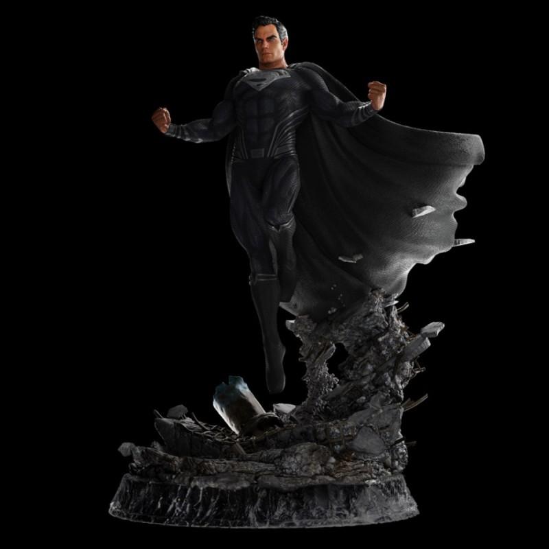 Superman Black Suit - Zach Snyder's Justice League - 1/4 Scale Statue