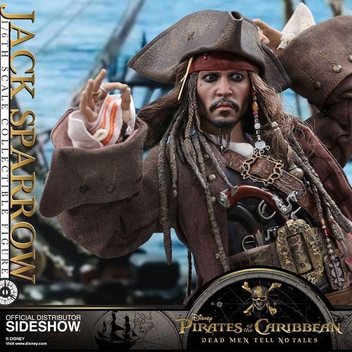 Jack Sparrow - Pirates of the Caribbean Salazars Rache - 1/6 Scale Figur