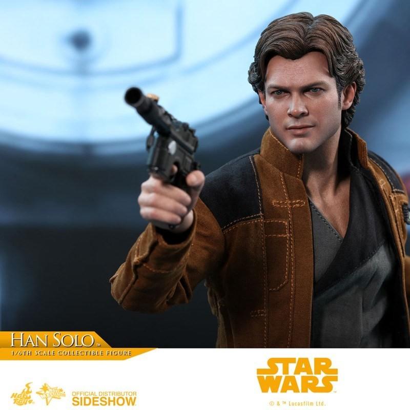 Han Solo - Solo: A Star Wars Story - 1/6 Scale Figur