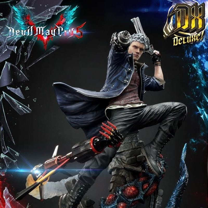 Nero Deluxe Version - Devil May Cry 5 - Polystone Statue