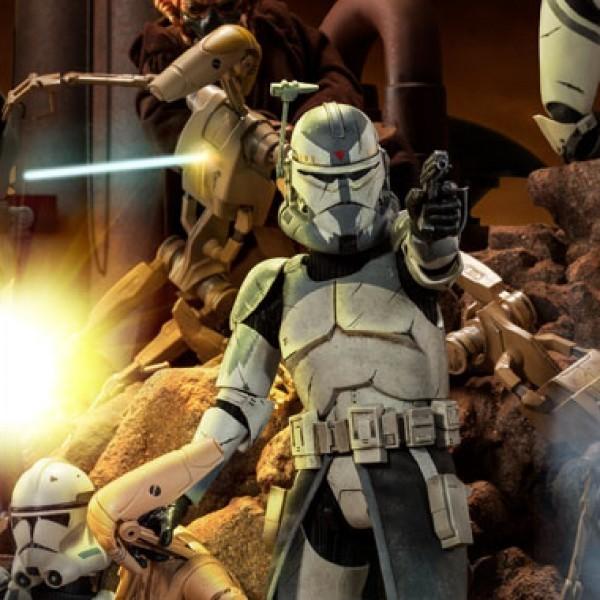 Clone Commander Wolffe - Star Wars - 1/6 Scale