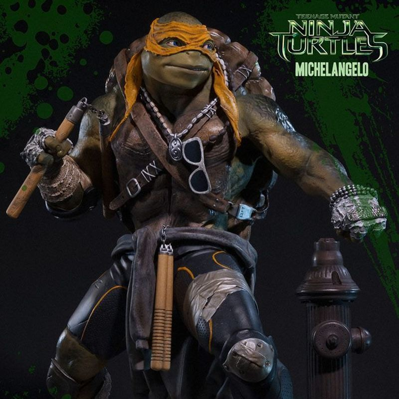 Michelangelo - TMNT - Museum Master Line Statue