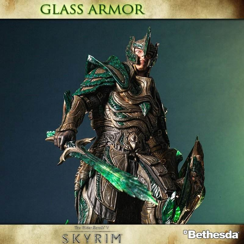 Vulkanglasrüstung - The Elder Scrolls V Skyrim - 1/6 Scale Statue