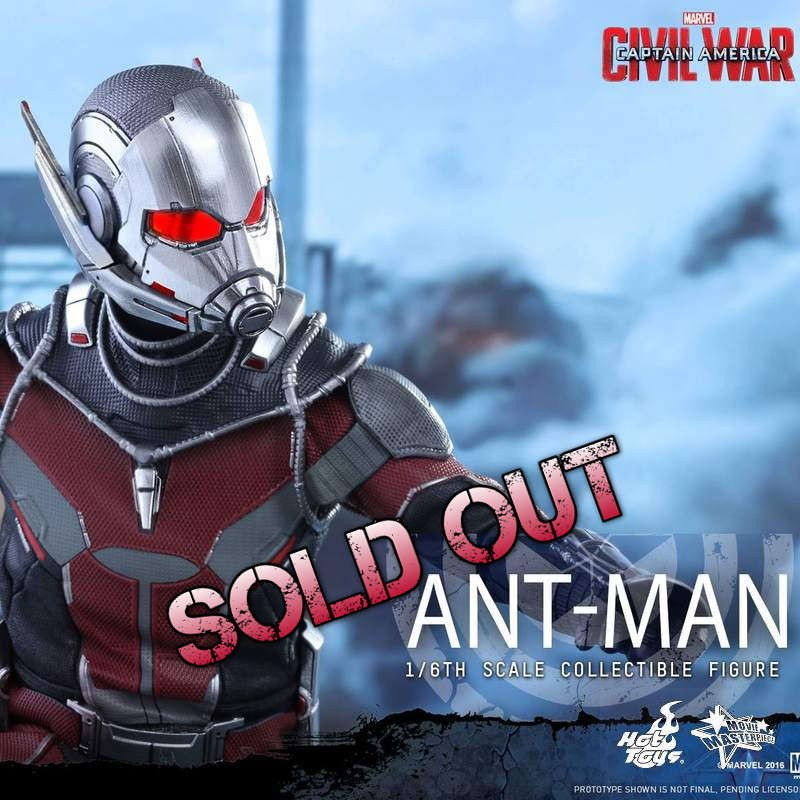 Ant-Man - Civil War - 1/6 Scale Action Figur