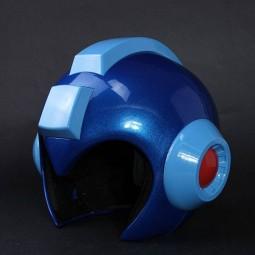 Tragbarer MegaMan Helm mit Leuchtfunktion - MegaMan - 1/1 Replik