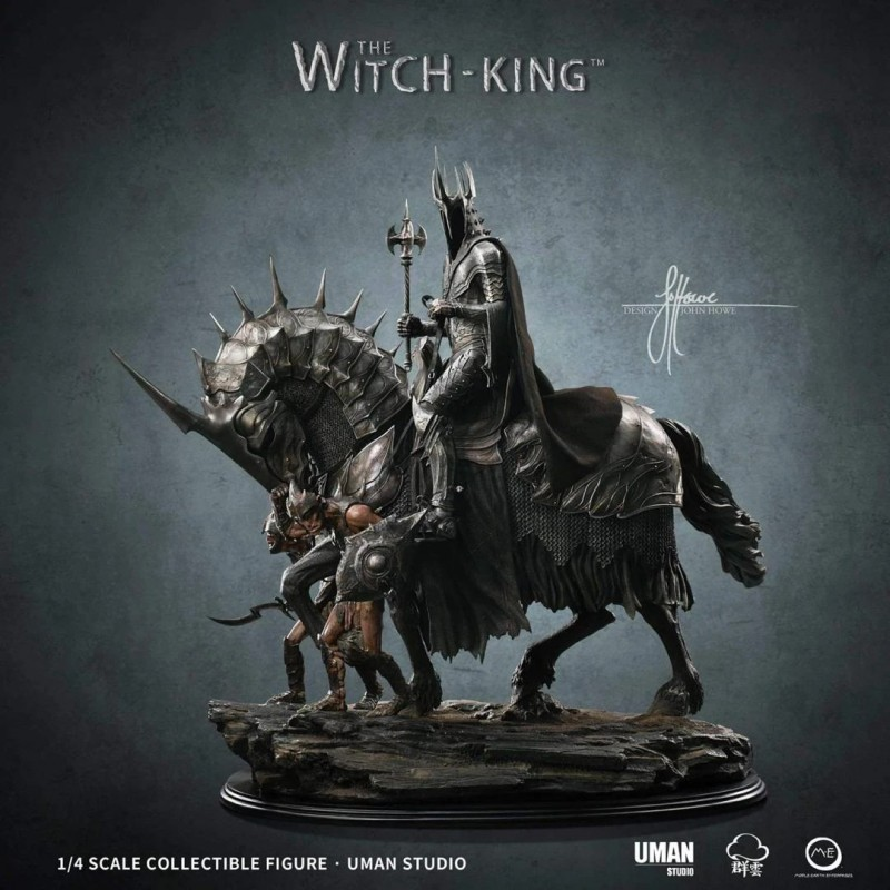 The Witch King - John Howe Artist Series 1/4 Scale Statue