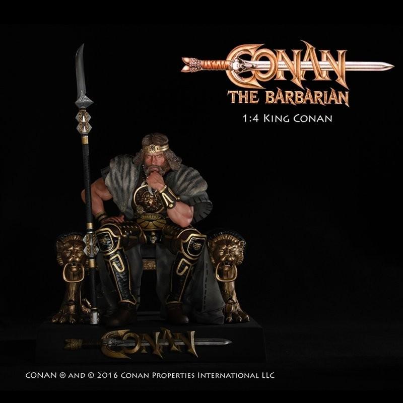 King Conan - Conan the Barbarian - 1/4 Scale Statue