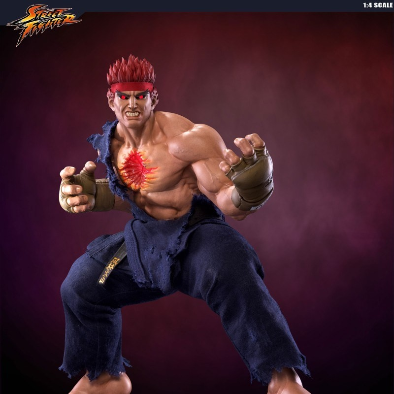 Evil Ryu - Street Fighter - 1/4 Scale Statue