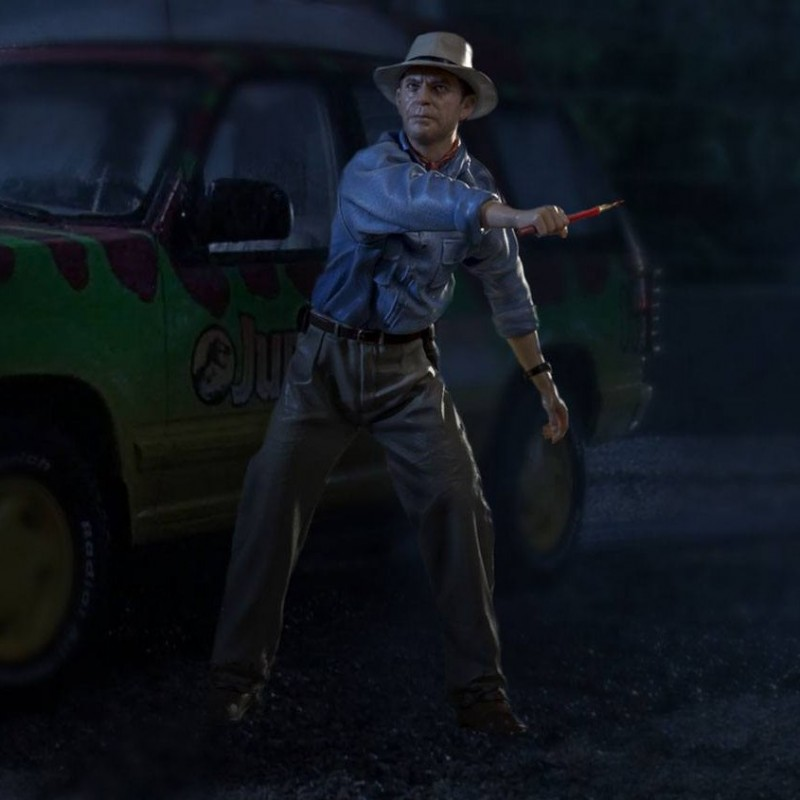 Alan Grant - Jurassic Park - 1/10 Scale Statue