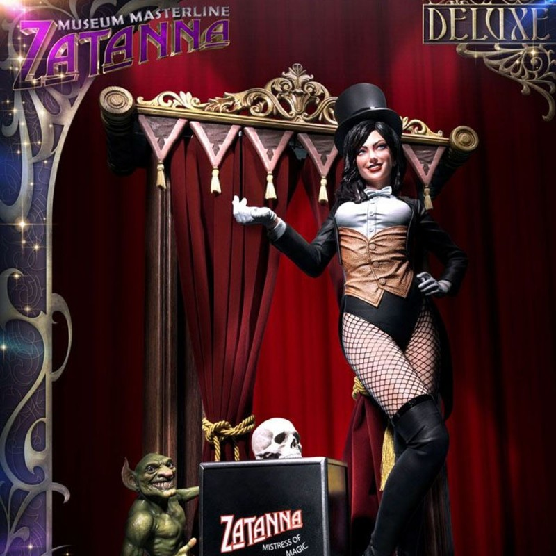 Zatanna Deluxe (Justice League Dark) - DC Comics - 1/3 Scale Museum Masterline Statue