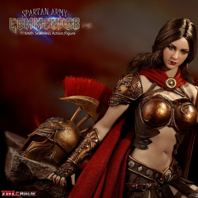 Golden Commander - Spartan Army - 1/6 Scale Actionfigur