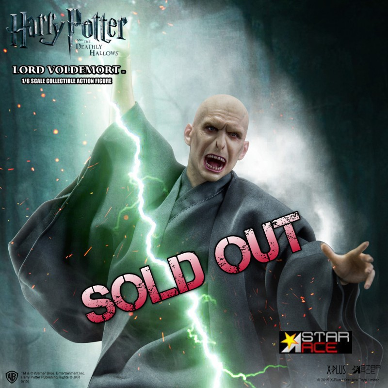 Lord Voldemort - Harry Potter - 1/6 Scale Actionfigur