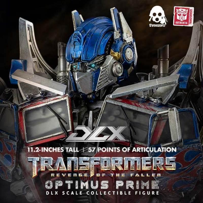 Optimus Prime - Transformers Revenge of the Fallen - DLX Scale Actionfigur