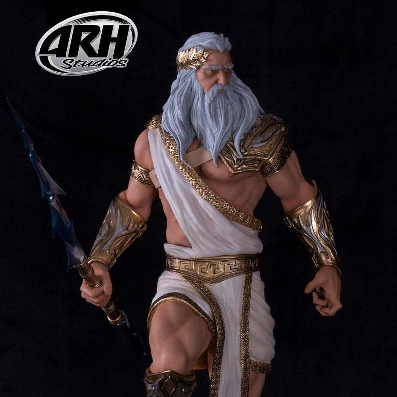 Zeus Greek God (Artist Proof Edition) - 1/4 Scale Resin Statue
