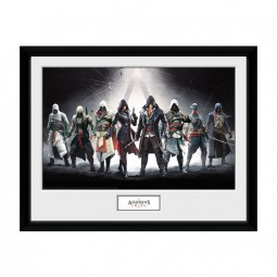 Characters - Assassins Creed - Poster im Rahmen