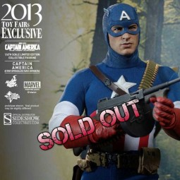 Captain America Star Spangled Man - 1/6 Scale Action Figur