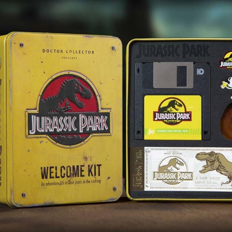 Welcome Kit Amber Limited Edition - Jurassic Park - Sammlerbox
