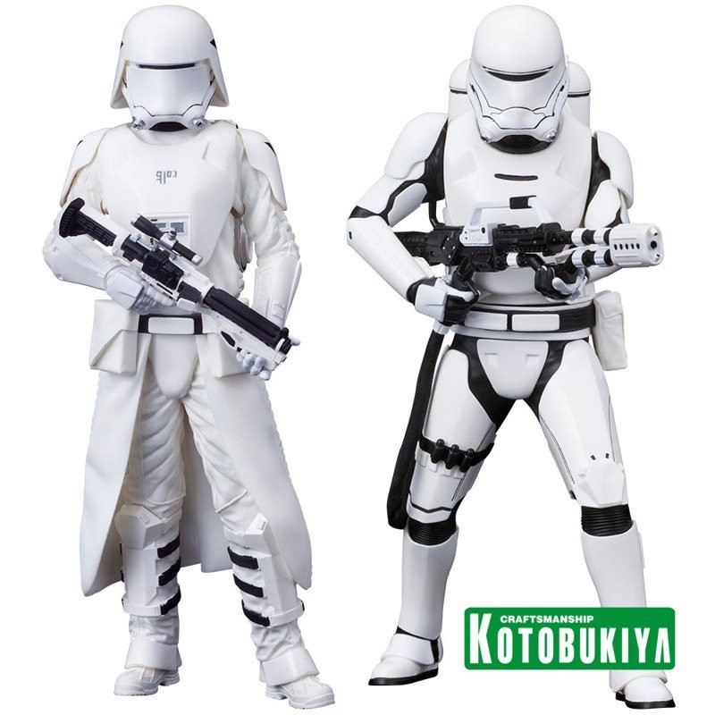 First Order Snowtrooper & Flametrooper - Star Wars Episode VII - ARTFX+ Statuen Set