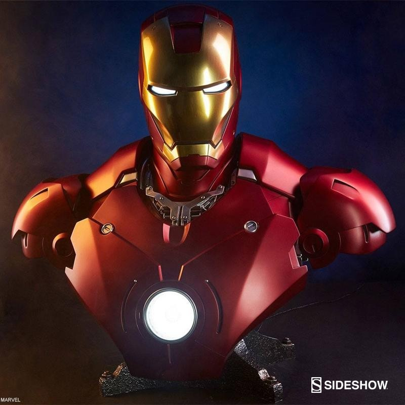 Iron Man Man Mark III - Iron Man - Life-Size Büste