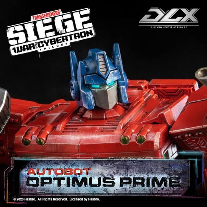 Optimus Prime - Transformers: War For Cybertron Trilogy - DLX Scale Actionfigur