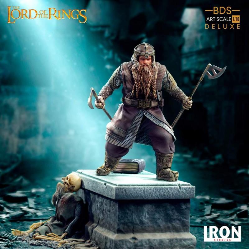 Gimli - Herr der Ringe - Deluxe BDS Art Scale 1/10 Statue