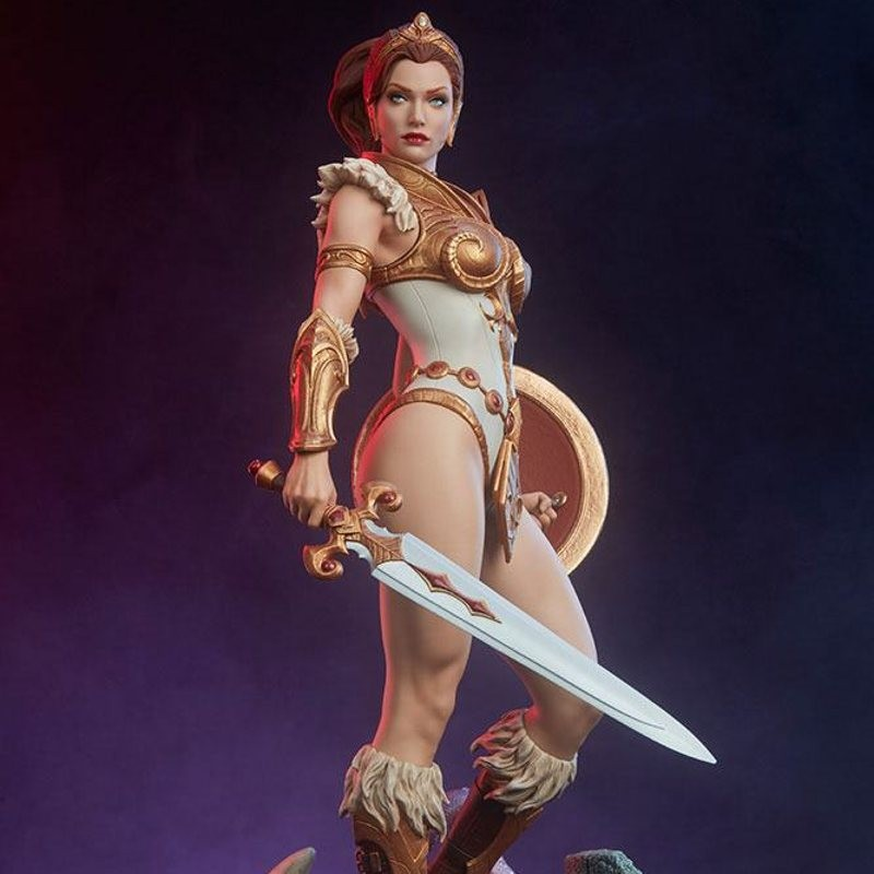 Teela Legends - Masters of the Universe - Polystone Maquette