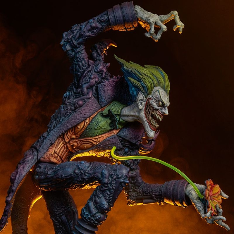 Joker - DC Comics Gotham City Nightmare Collection - Polystone Statue