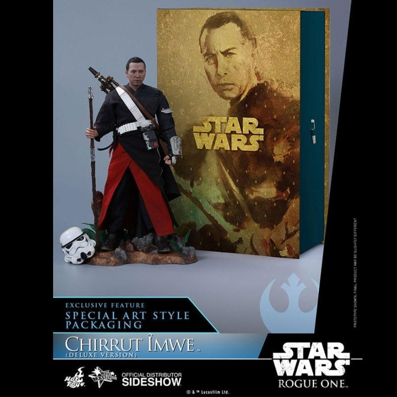 Chirrut Imwe Deluxe - Rogue One: A Star Wars Story - 1/6 Scale Figur