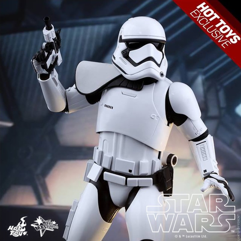 First Order Stormtrooper Squad Leader - Star Wars - 1/6 Scale Figur