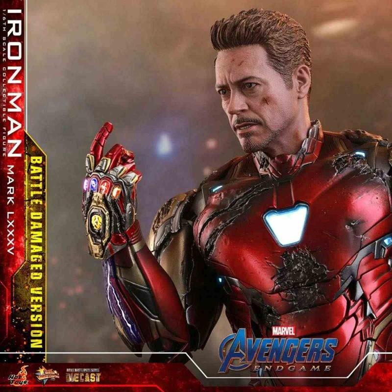 Iron Man MK LXXXV Battle Damaged Ver. - Avengers: Endgame - Diecast 1/6 Scale Figur