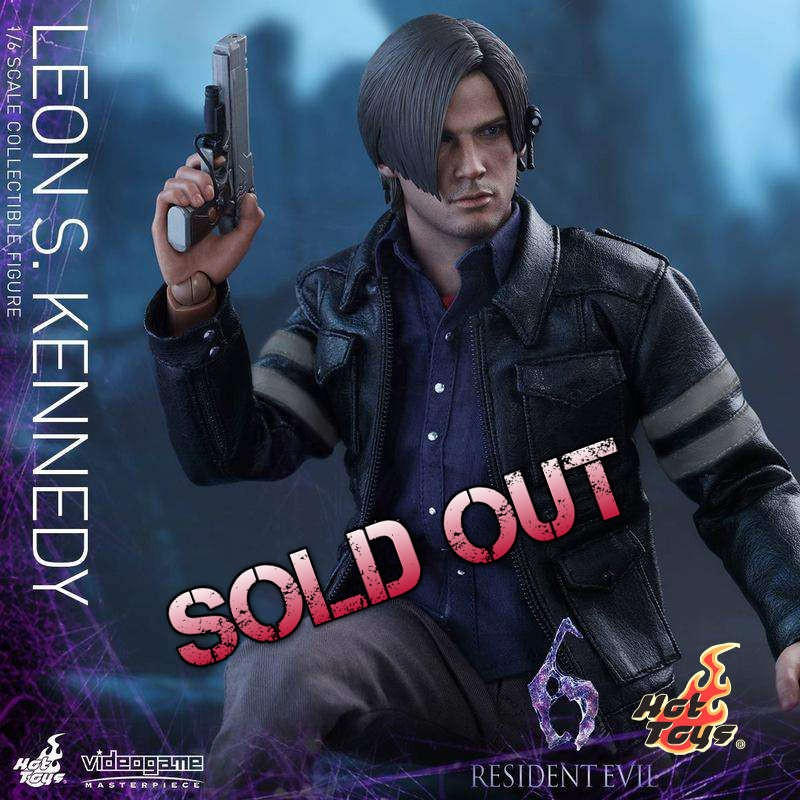 Leon S Kennedy - Resident Evil 6 - 1/6 Scale Figur