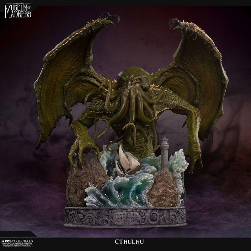 Cthulhu - H.P. Lovecraft Museum of Madness - Polystone Statue