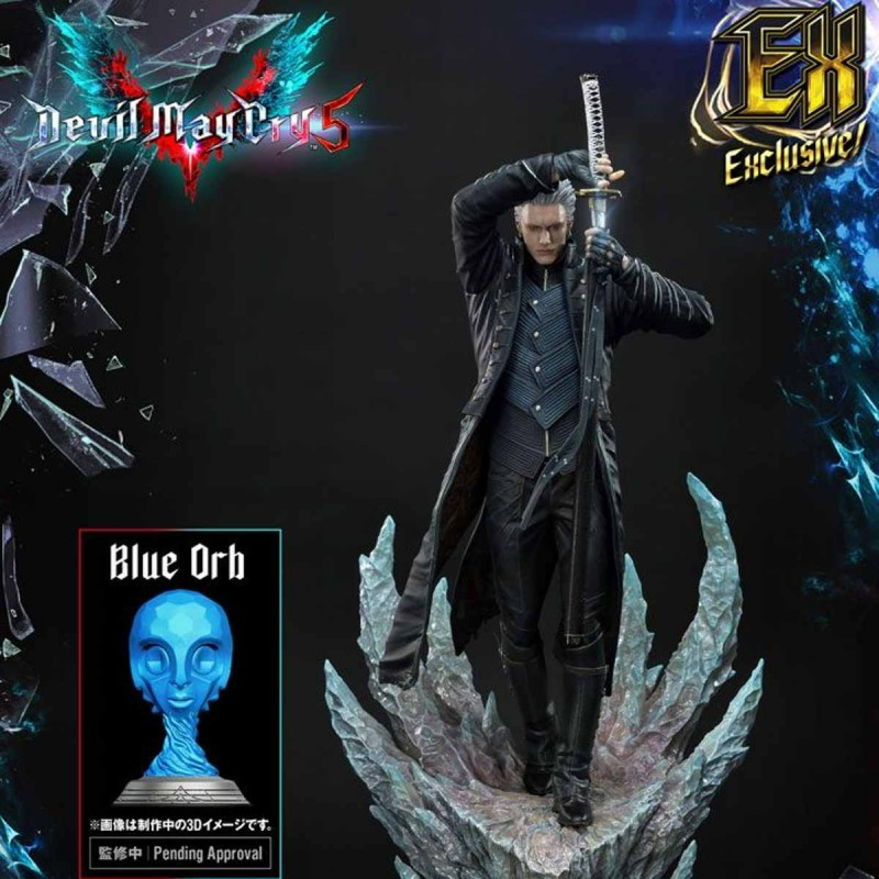 Vergil Exclusive Version - Devil May Cry 5 - Polystone Statue