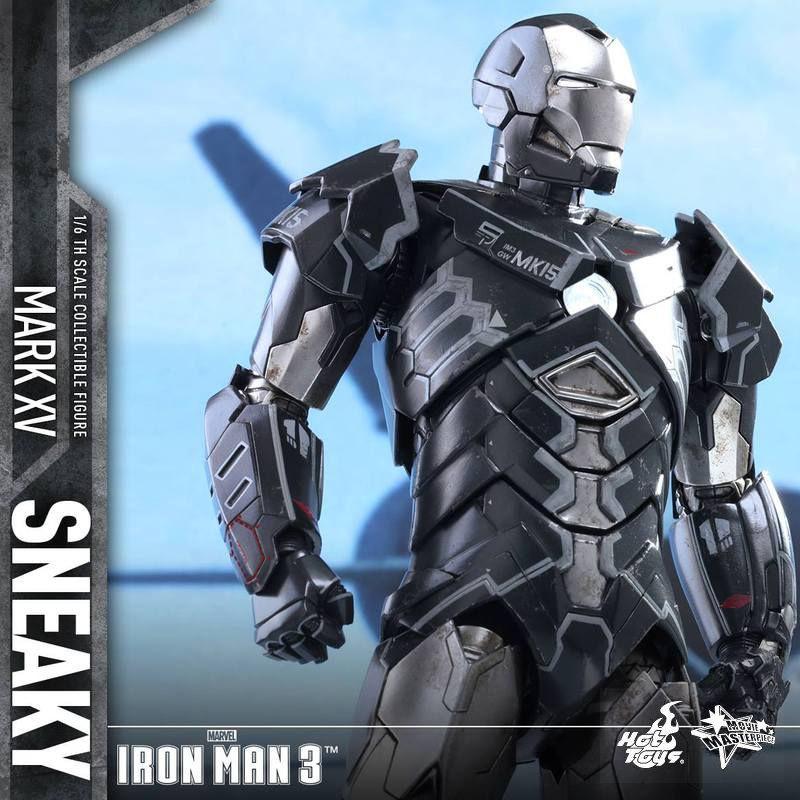 Sneaky Mark XV - Iron Man 3 - 1/6 Scale Action Figur