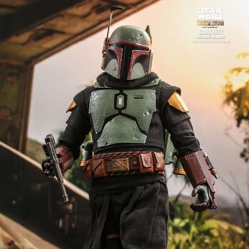 Boba Fett (Repaint Armor) - Star Wars The Mandalorian - 1/6 Scale Figur