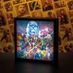 Marvel Avengers Infinity War - 3D Luminart