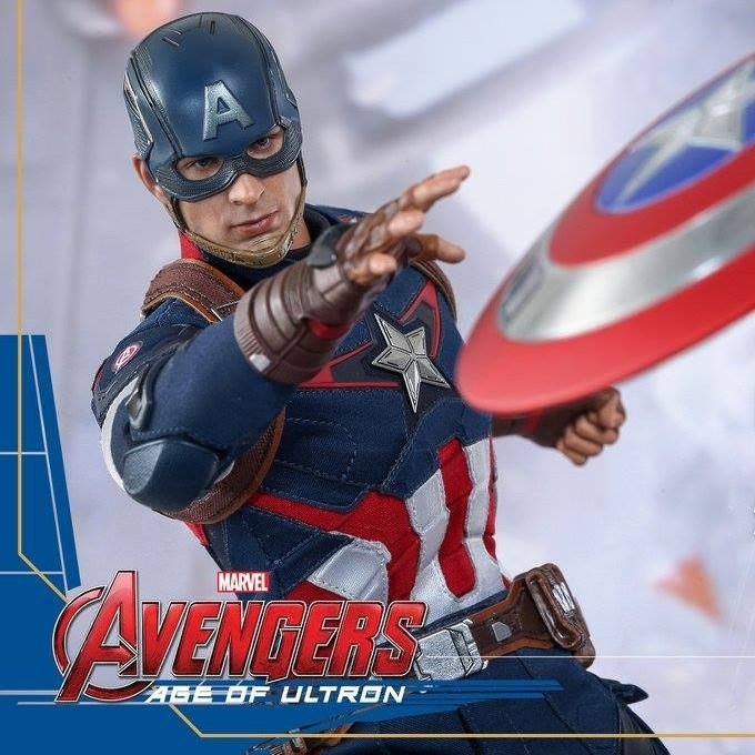 Captain America - Age of Ultron - 1/6 Scale Figur