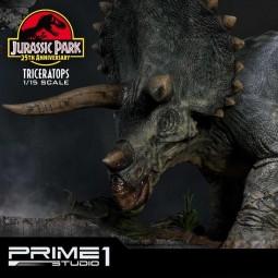 Triceratops - Jurassic Park - 1/15 Scale Polystone Statue