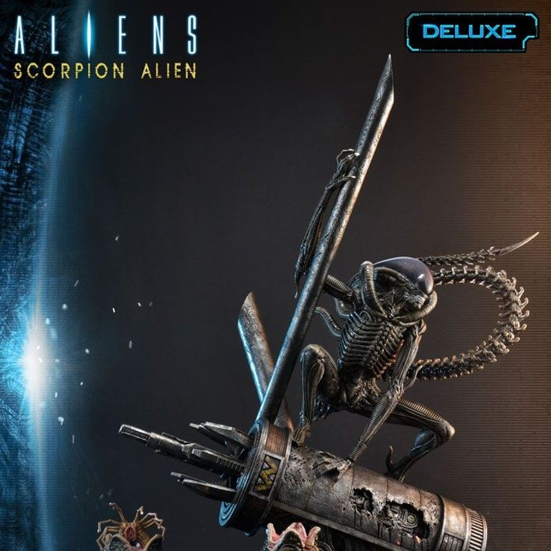 Scorpion Alien Deluxe Version - Aliens #101 - 1/4 Scale Polystone Statue