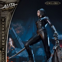 Alita Berserker Deluxe Version - Alita: Battle Angel - 1/4 Scale Polystone Statue