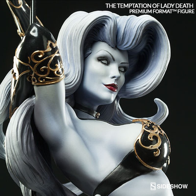 The Temptation of Lady Death - Premium Format Statue