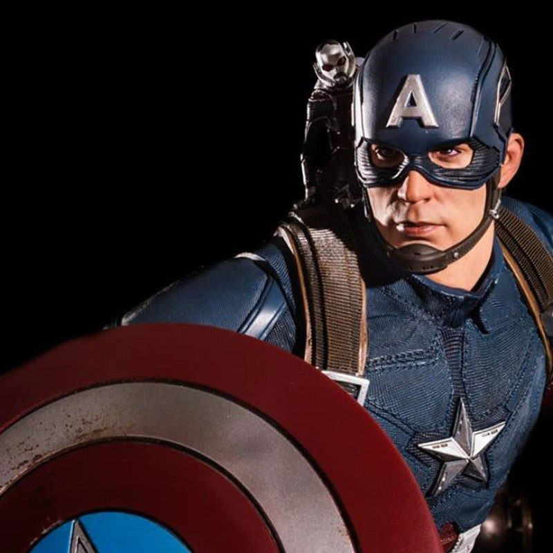 Captain America - Captain America Civil War - 1/4 Scale Statue