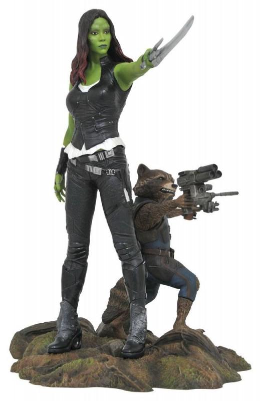 Gamora & Rocket Raccoon (GotG 2) - Marvel Gallery - PVC Statue