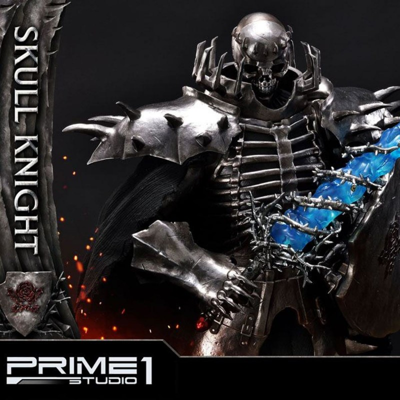 Skull Knight on Horseback - Berserk - 1/4 Scale Polystone Statue