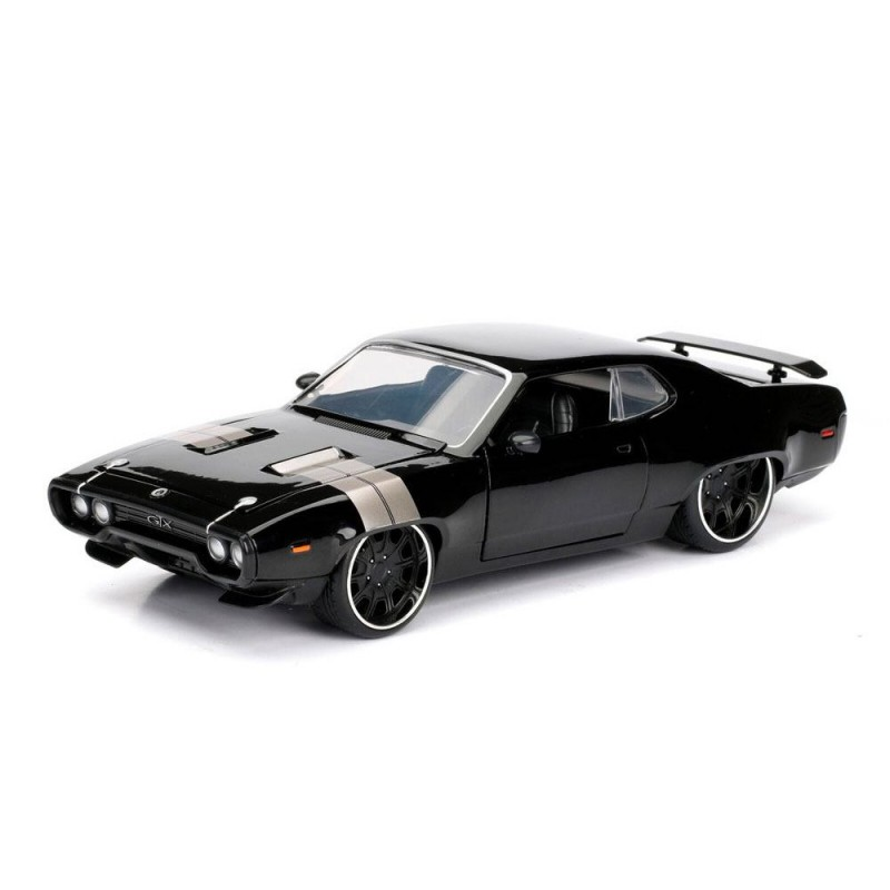 Dom's 1972 Plymouth GTX - Fast & Furious 8 - Diecast Modell 1/24