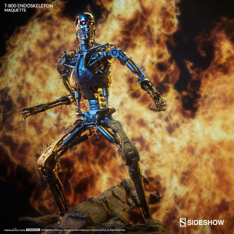 T-800 Endoskeleton - Terminator - Maquette