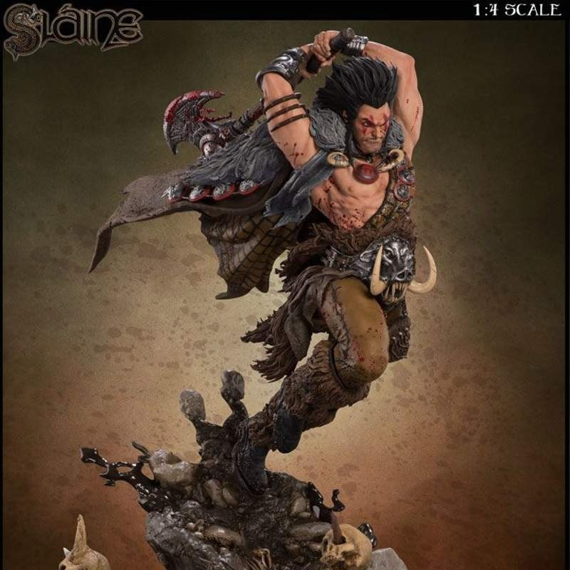 Slaine - 2000 AD - 1/4 Scale Statue