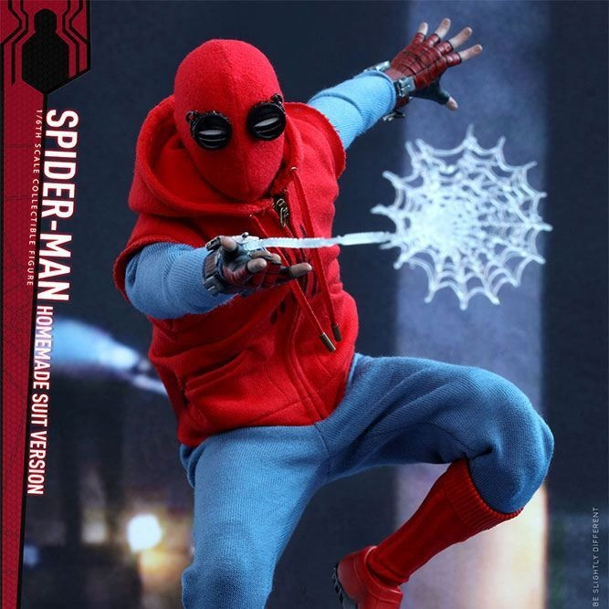 Spider-Man Homemade Suit Version - Spider-Man: Homecoming - 1/6 Scale Figur